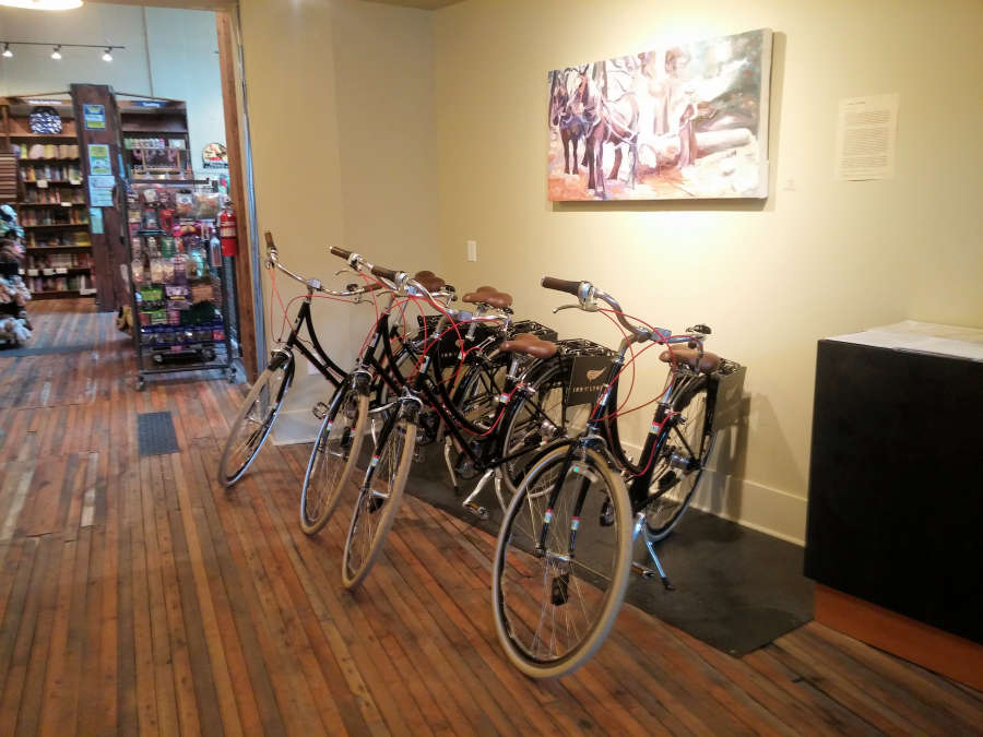complimentary bikes at the Inn at Lynden.