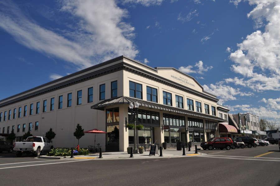 Waples Mercantile Building in Lynden, Washington.