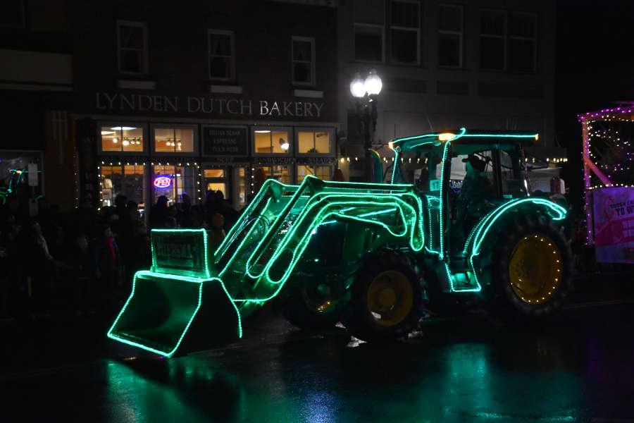 Lynden Christmas Parade in Lynden, Washington.