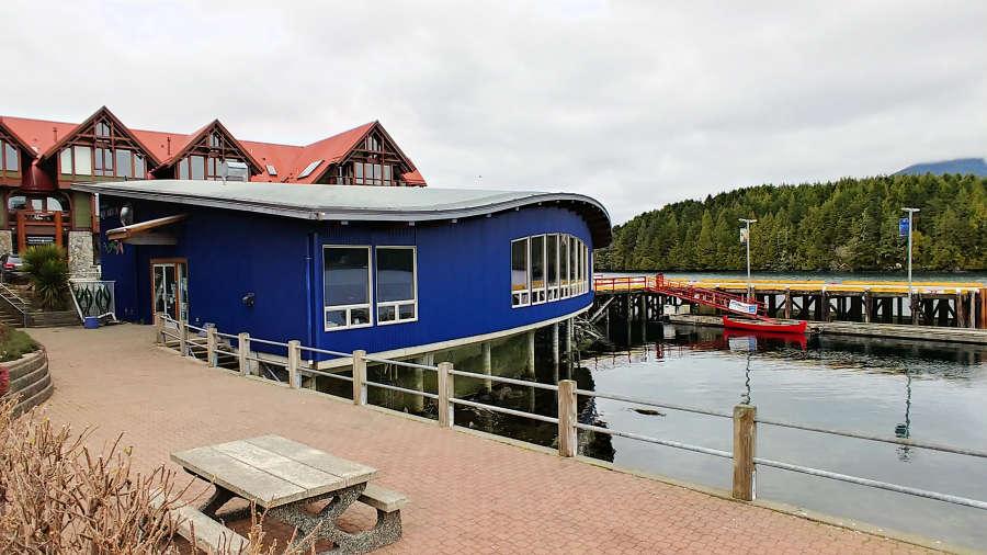 Ucluelet Aquarium in British Columbia.