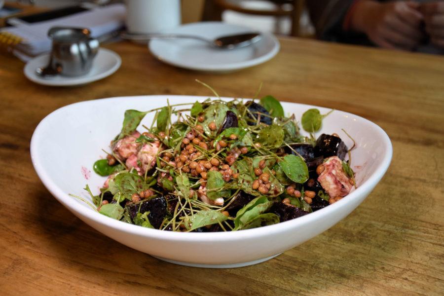 Beet salad from Maialina Pizzeria Napoletana in Moscow, Idaho.