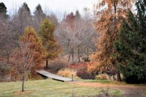 University of Idaho Arboretum & Botanical Garden pond.