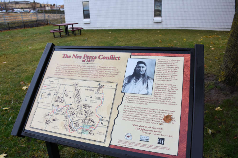 Chief Joseph and the Nez Perce Conflict.