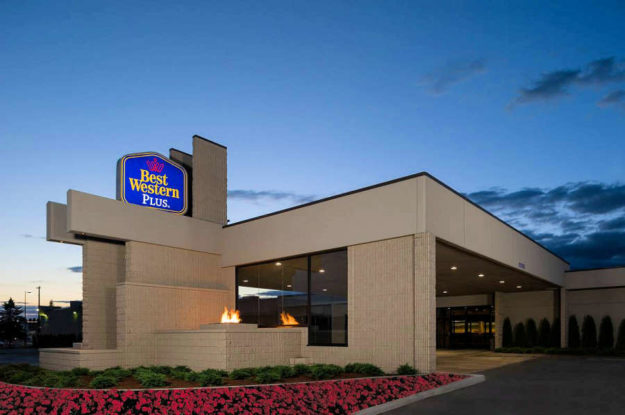 Best Western PLUS University Inn in Moscow, Idaho.