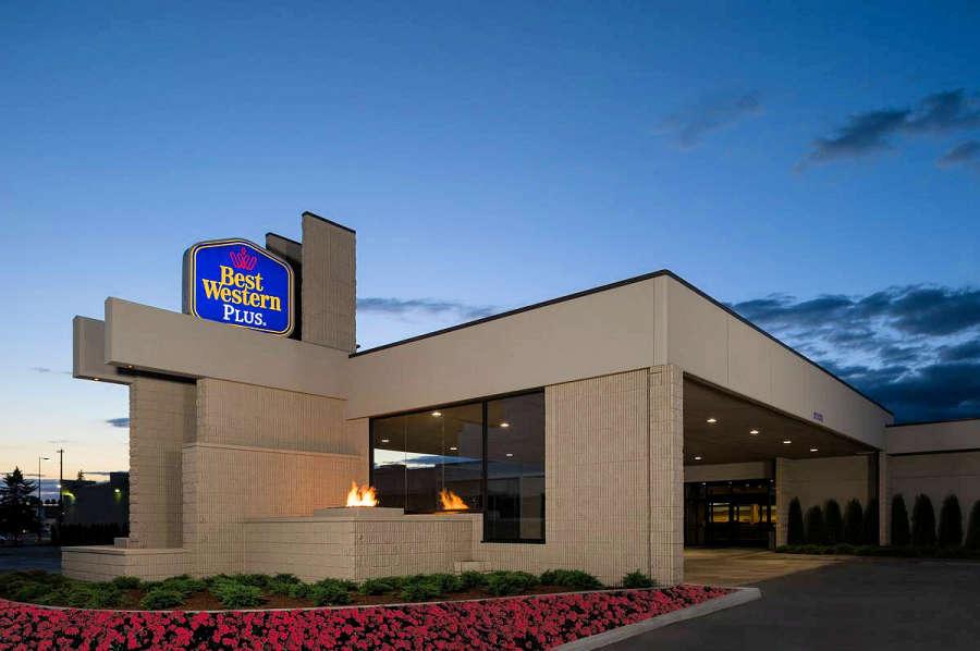 Best Western PLUS University Inn in Moscow, Idaho.