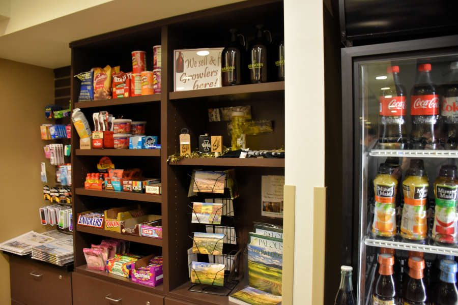 The snack shop at the Best Western PLUS University Inn.