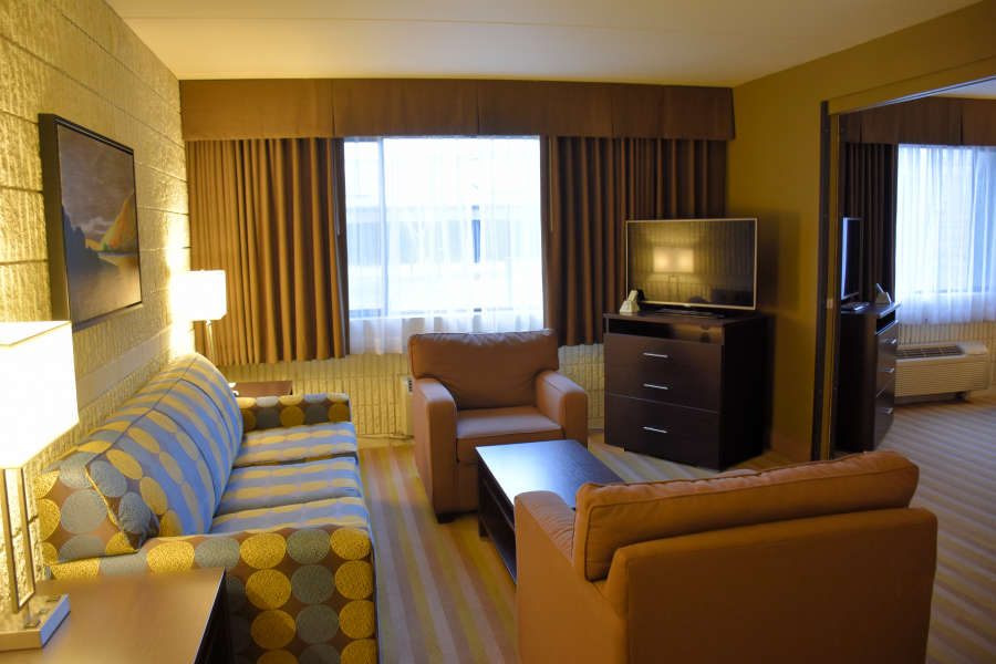 The executive suite at the Best Western PLUS University Inn in Moscow, Idaho.