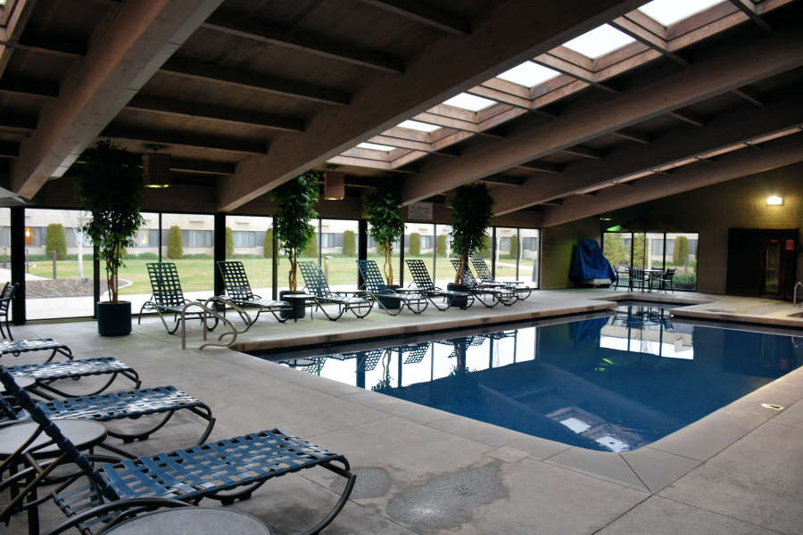 The pool at the Best Western PLUS University Inn in Moscow, Idaho.
