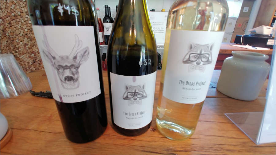 The Orcas Project wines on the Salish Sea Tour Co.
