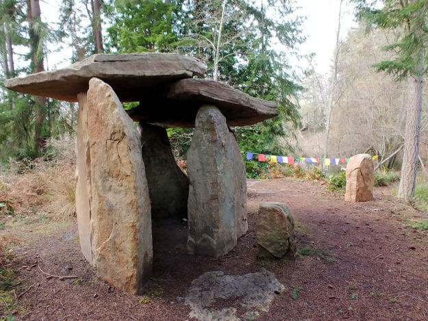 Earth Sanctuary on Whidbey Island.