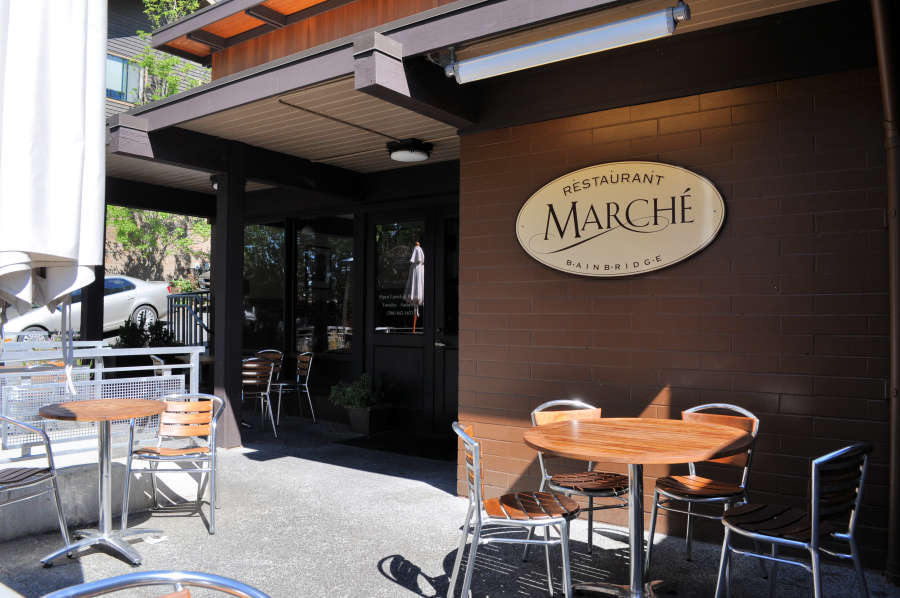 Marche Restaurant on Bainbridge Island.