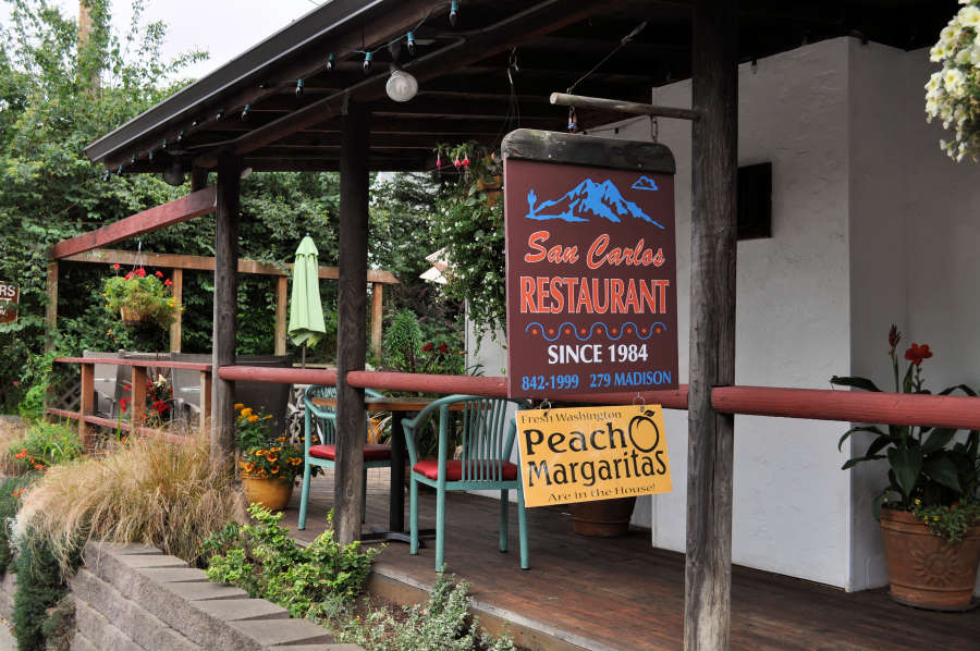 San Carlos Restaurant on Bainbridge Island.