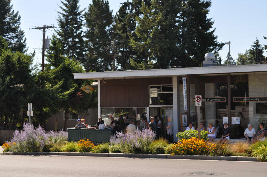 The Streamliner Diner on Bainbridge Island.