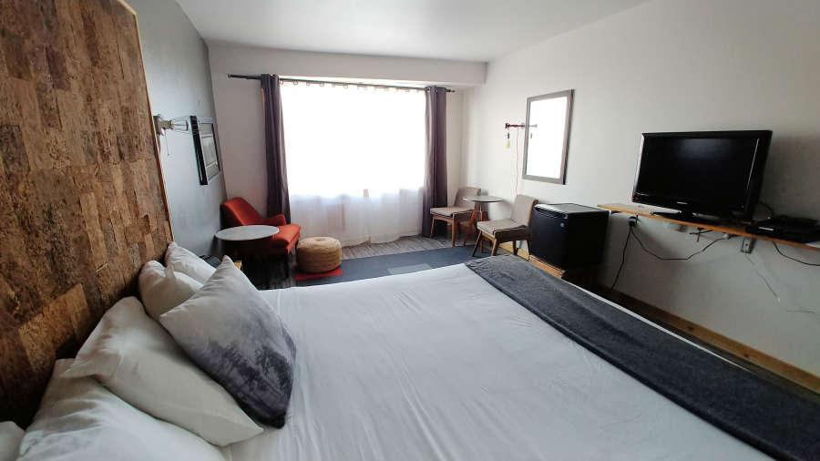 Room at the Adrift Hotel + Spa in Long Beach, Washington.
