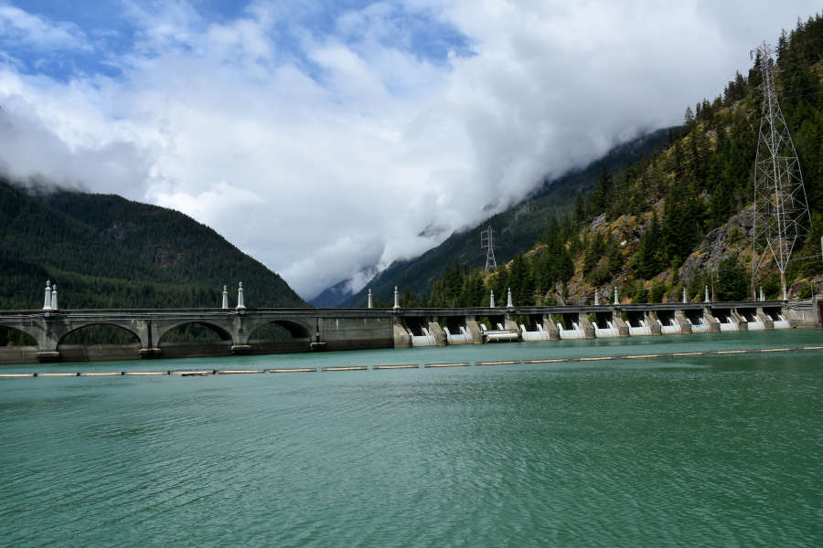 Diablo Dam in the North Cascades.