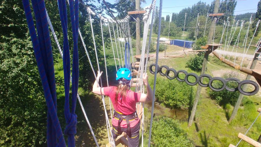 Course at Adventura in Woodinville, Washington.