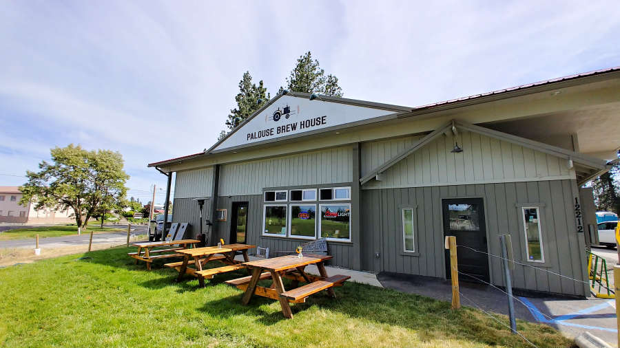 The Palouse Brew House in Valleyford, Washington.