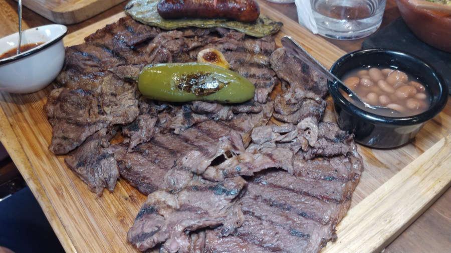 La Carne Asada Wagyu at Asadero Kent.