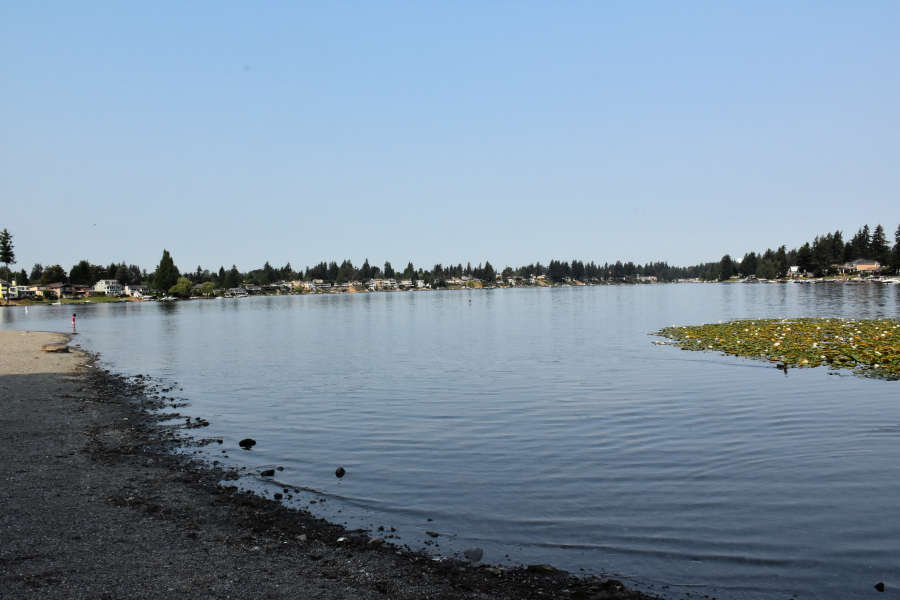 Lake Meridian in Kent, Washington.