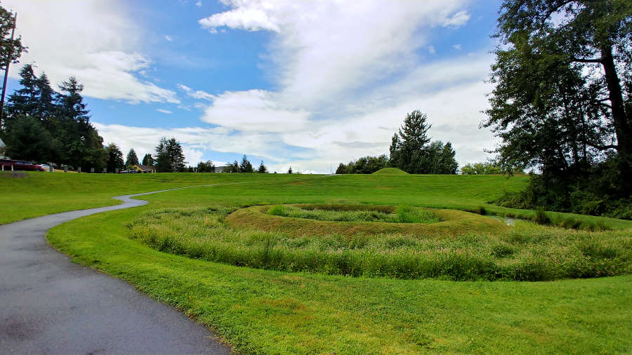 Earthworks Park in Kent, Washington.