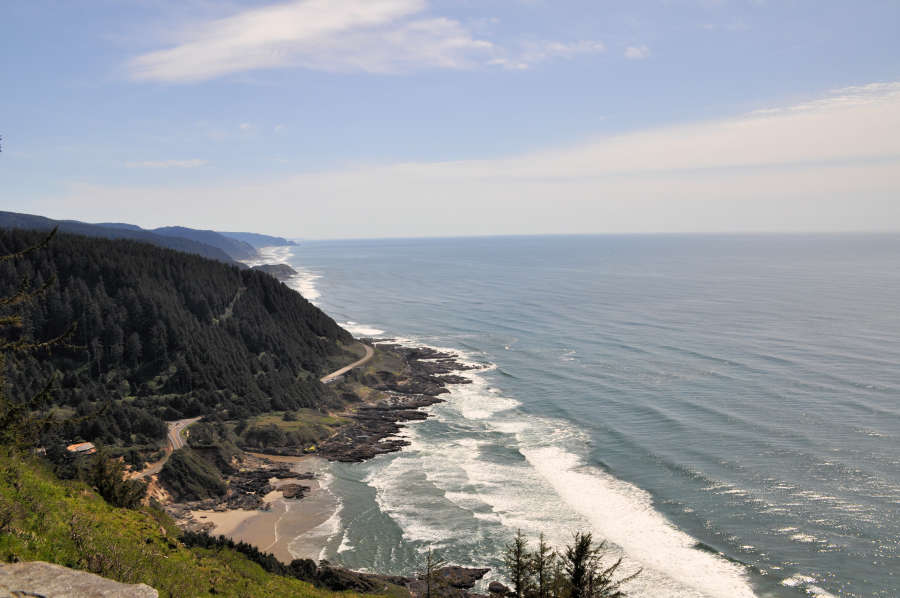 Cape Perpetua Headland Overlook.