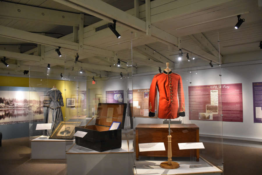 Langley Centennial Museum in Fort Langley.