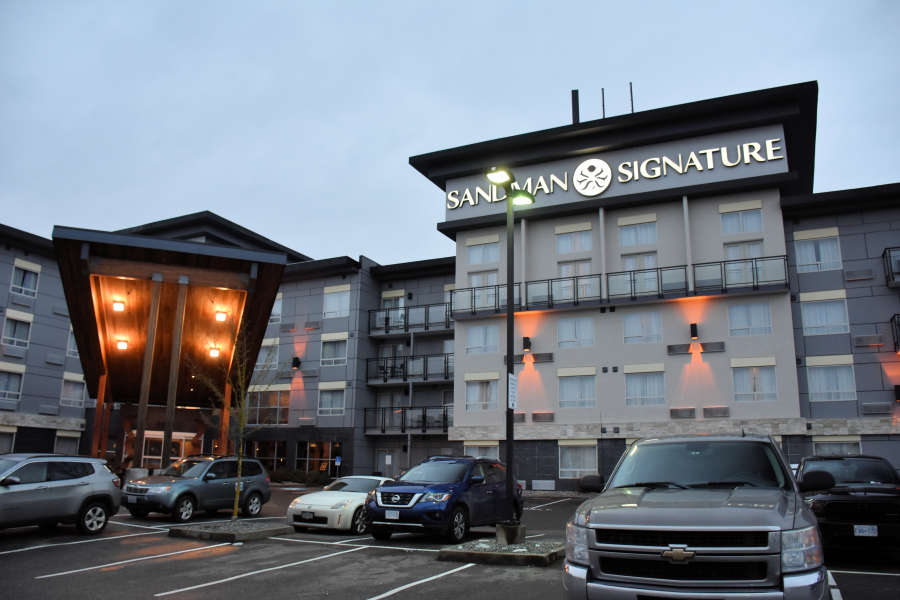 The Sandman Signature Langley Hotel in Fort Langley, British Columbia.