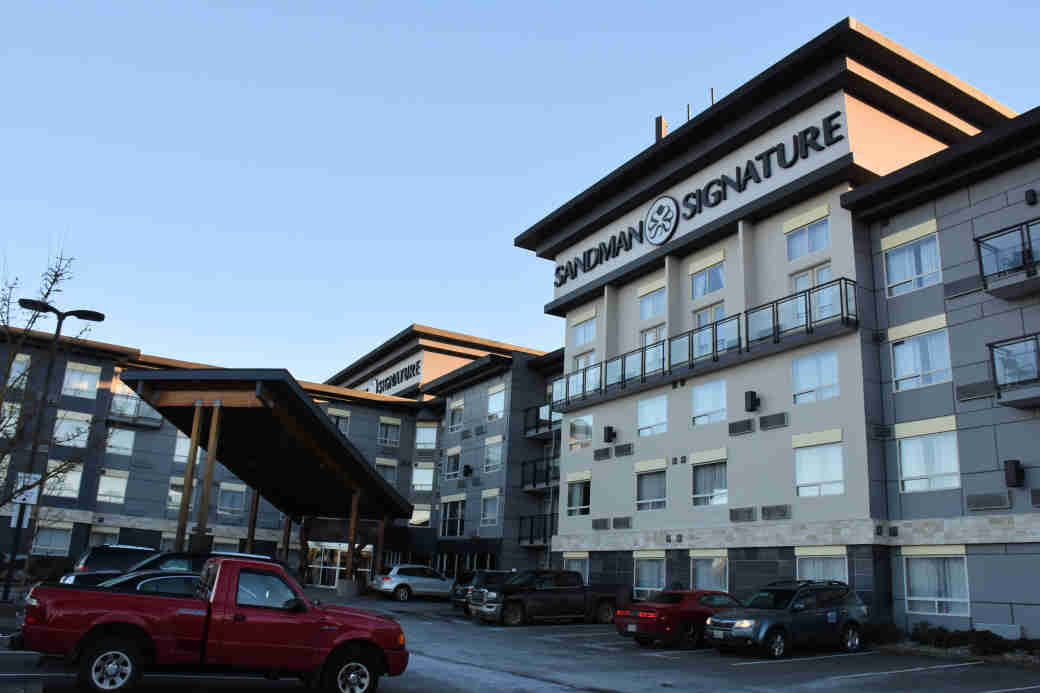 The Sandman Hotel in Langley, British Columbia.