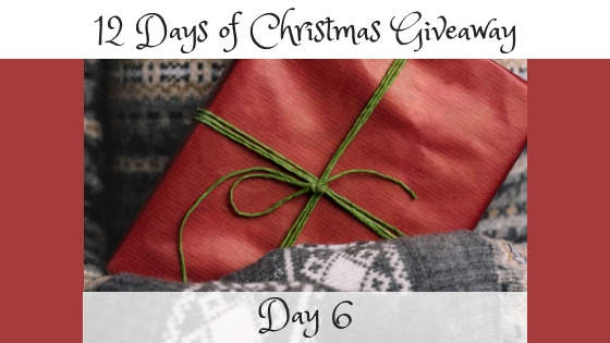 12 Days of Christmas Giveaway Day 6