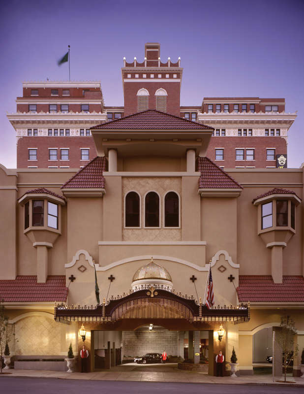 The Historic Davenport Hotel in Spokane, Washington.