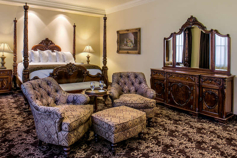 The Governors Suite at The Historic Davenport Hotel.