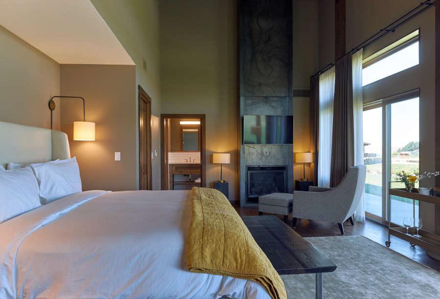 Suite at Eritage Resort in Walla Walla, Washington.