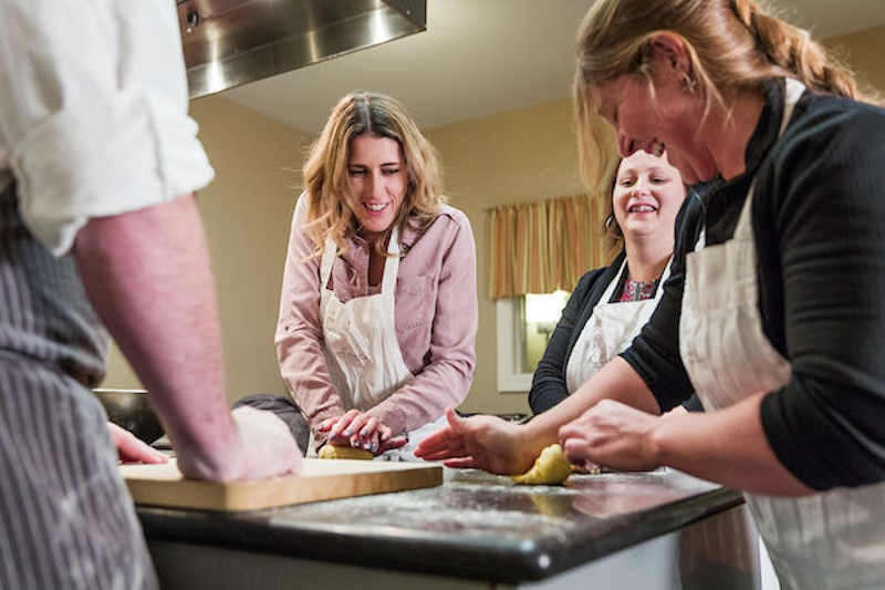 A Cook Academy Class at The Essex Culinary Resort & Spa. e