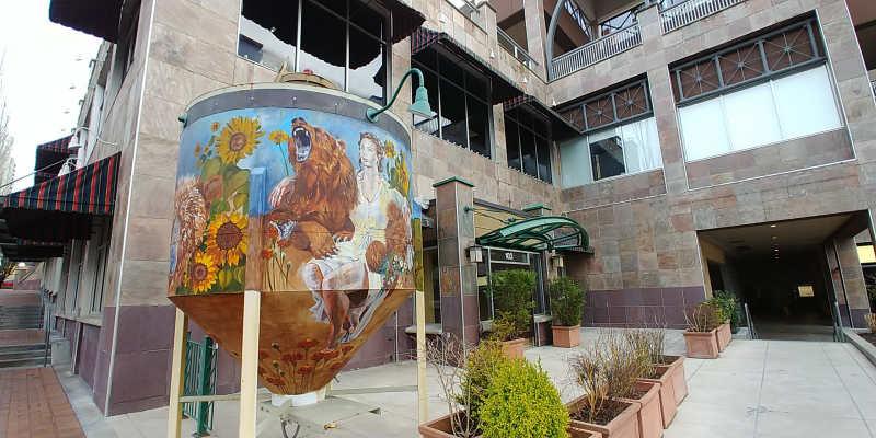 Public art in downtown Bellevue, Washington