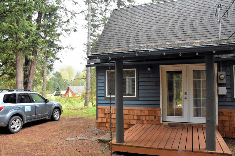 Millard's Cabin in Packwood, Washington.