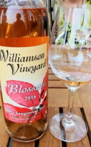 A bottle of Idaho wine.