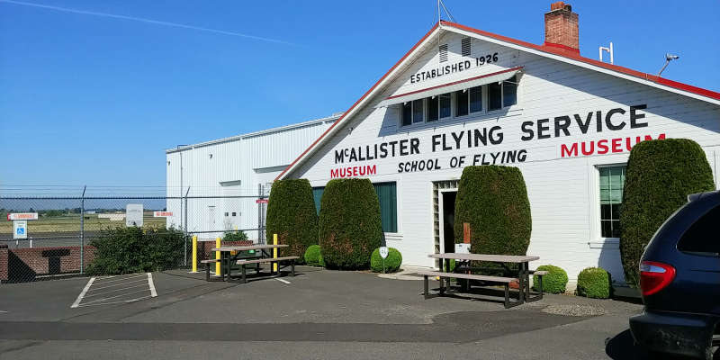 The McAllister Museum in Union Gap, Washington.