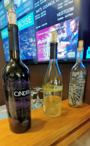 Cinder wines at The Grove Hotel's Wine Wednesday.