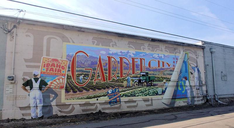 The Garden City Mural.