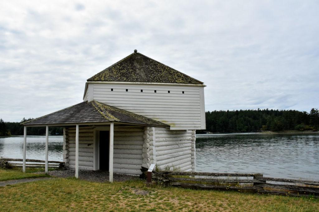 Garrison at English Camp on San Juan Island.
