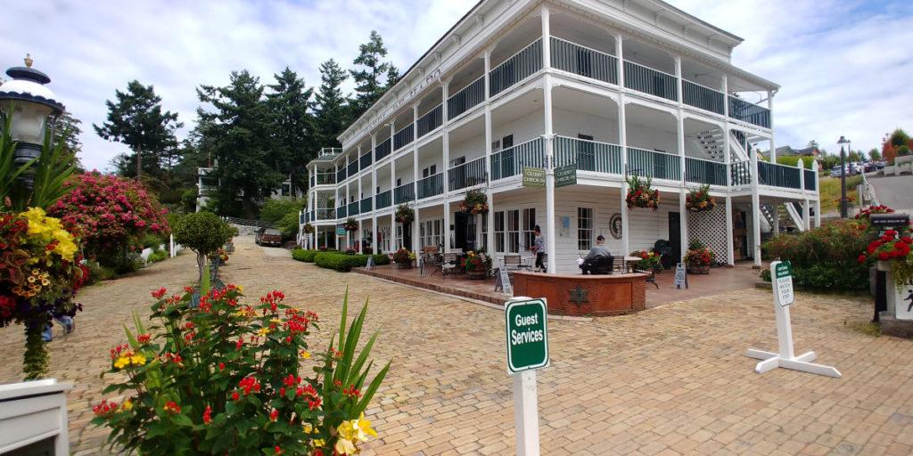 Hotel De Haro on San Juan Island.