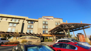 The Springhill Suites by Marriott Wenatchee.