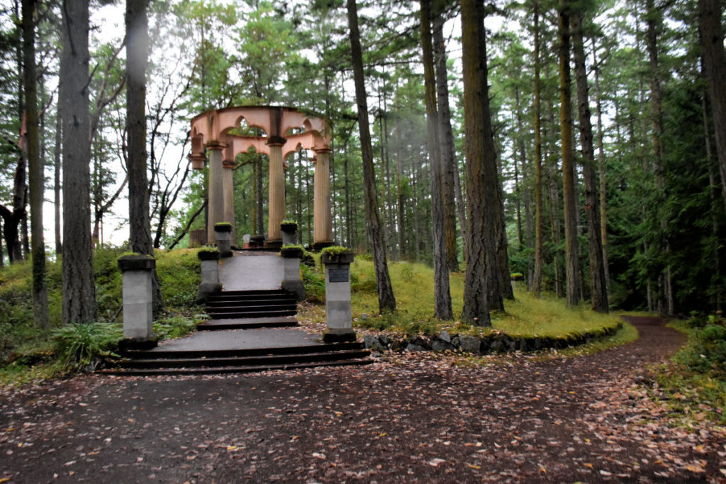 McMillian Mausoleum on San Juan Island.