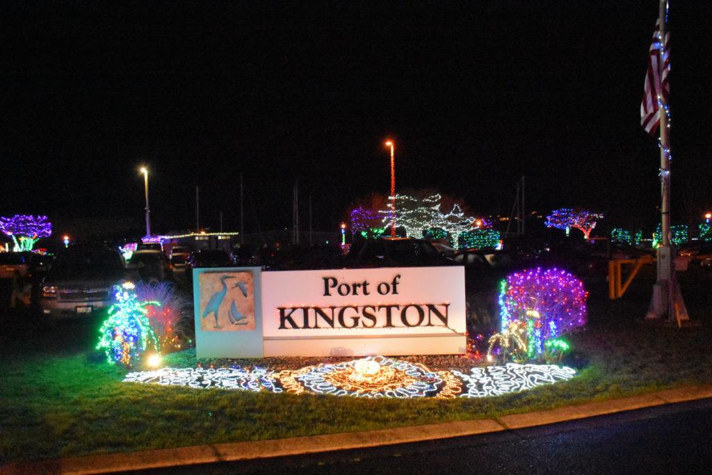 Port of Kingston at Kingston Cove Christmas.