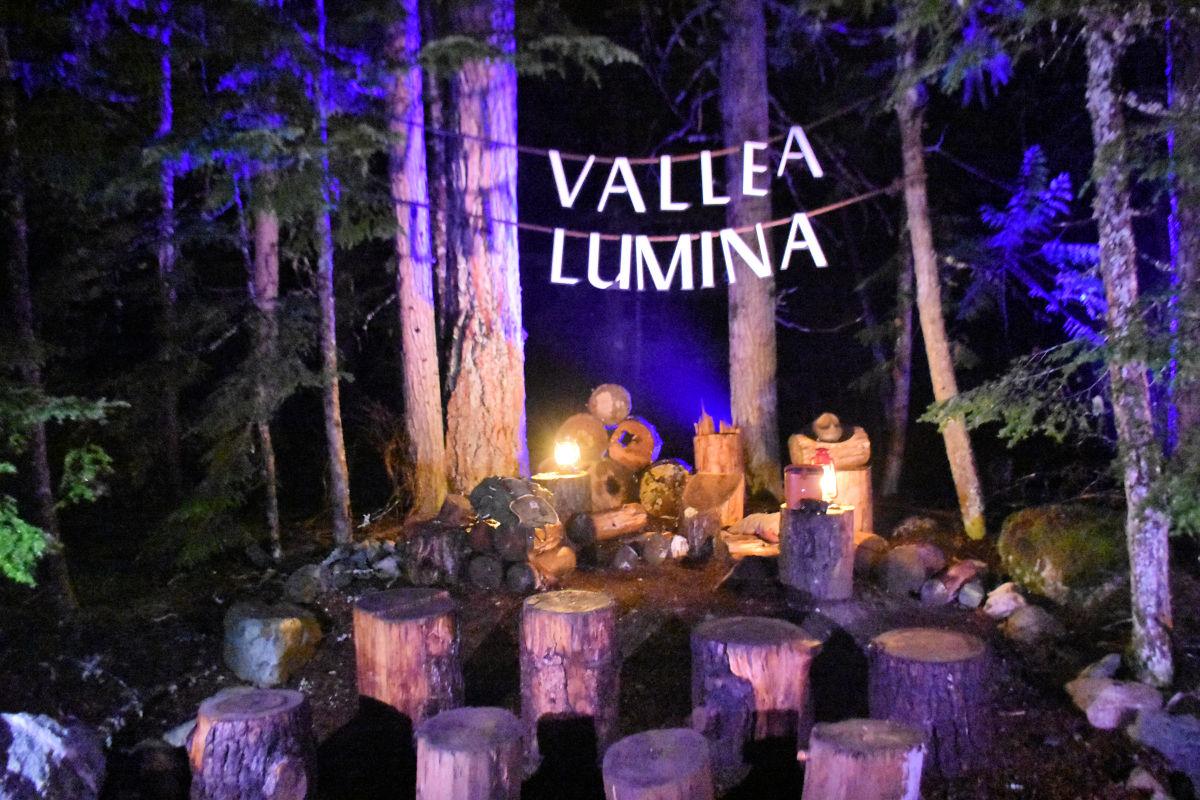 Vallea Lumina in Whistler, British Columbia.