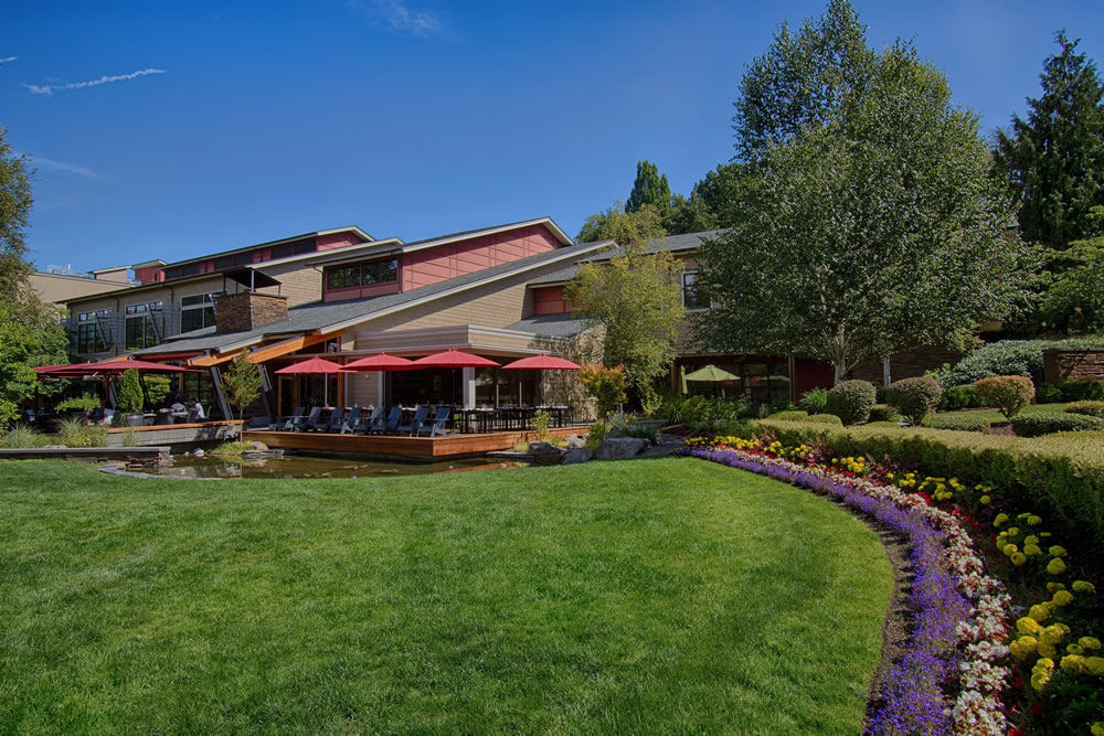 Cedarbrook Lodge in SeaTac, Washington.